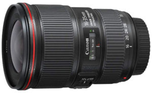 Canon Objectif EF 16-35 mm