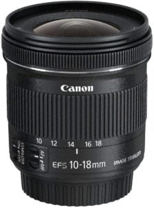 Canon Objectif EF-S 10-18-mm