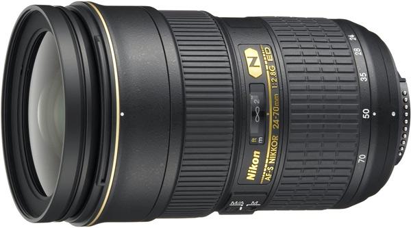 Nikon AF-S 24-70 mm f/2,8G ED
