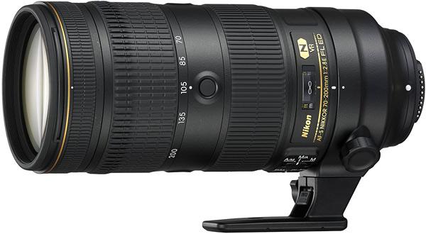 Nikon AF-S Nikkor 70-200mm f/2,8E FL Ed VR