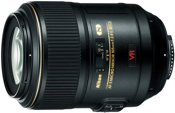 Nikon AF-S VR Micro NIKKOR 105mm f/2,8G