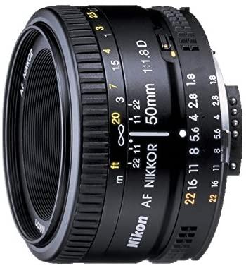 Nikon Nikkor Objectif 50 mm f 1,8D AF